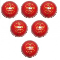 Yorker Red Leather Cricket...